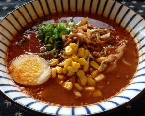 Piri Kara Spicy Miso Ramen