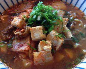 Kimchi Tofu Ramen